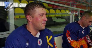 Хоккейная команда «Распадская» принимала на своём льду новокузнечан