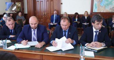 А. Тулеев провёл совещание по подготовке к зиме