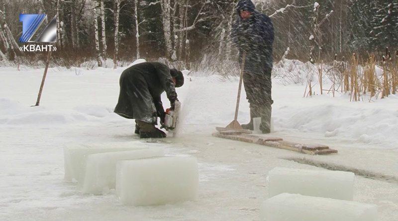Первая партия ледяных кубиков уже готова