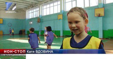 В городе появилась первая девичья команда по футболу