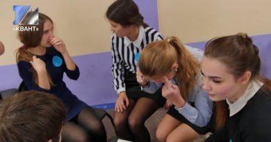 В школе №22 прошла деловая игра «100 лет революции в России»