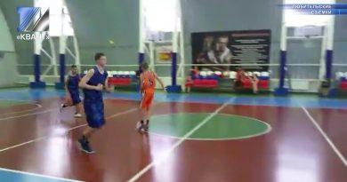 Прошли игры первенства Кемеровской области по баскетболу