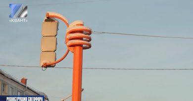 На пересечении улиц Весенняя-Кузнецкая будет реконструирован светофор