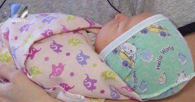 В День матери в Междуреченске родилось 4 малышей
