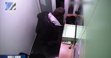 Неадекватный мужчина с ножом напал на банк