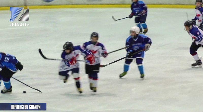 Проходит II этап турнира первенства Сибирского и Дальневосточного округов по хоккею