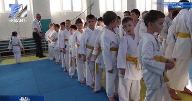 Прошли соревнования по каратэ среди воспитанников ДЮЦ
