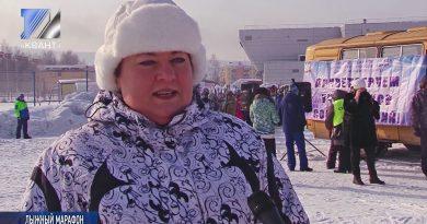 Прошёл лыжный марафон на призы Юрия Калугина