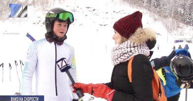 В Междуреченске проходят соревнования по горнолыжному спорту
