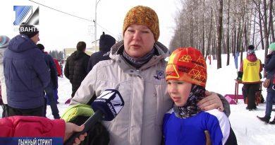 Воспитанники КДЮСШ приняли участие в лыжном спринте