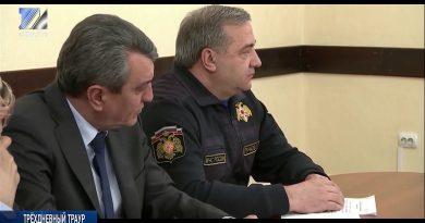 В Кузбассе трехдневный траур в связи с пожаром в ТРК «Зимняя вишня»