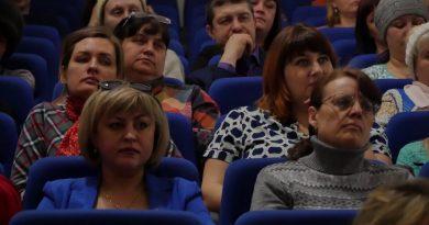 С. Кислицин встретился с родителями школьников на всеобщем городском собрании