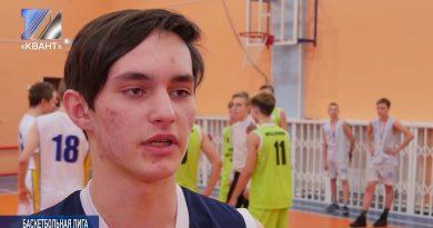 Итоги школьной баскетбольной лиги