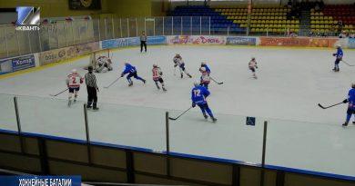 Проходит II этап первенства Сибирского и Дальневосточного округов по хоккею