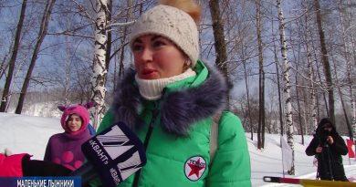 Прошёл турнир по лыжным гонкам «Гулливер»