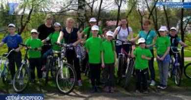 Ребята из СРЦ приняли участие в велопробеге