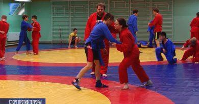 В Прокопьевске прошли соревнования по универсальному бою