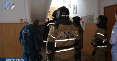 Пожарные проинспектировали здание 24-й музыкальной школы