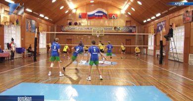Прошёл межгородской турнир по волейболу среди юношей
