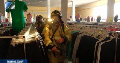 Пожарные отрабатывают оперативное мастерство