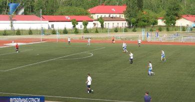 ФК «Распадская» принял на своем поле новокузнецкий «Сибшахтстрой