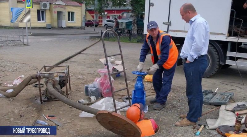 Завершаются ремонтные работы по пр. Строителей
