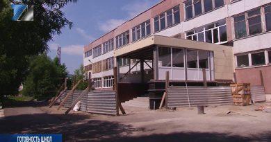 В школах №1 и №2 ведутся ремонтные работы