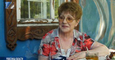 Валентина Аксёнова - ровесница области