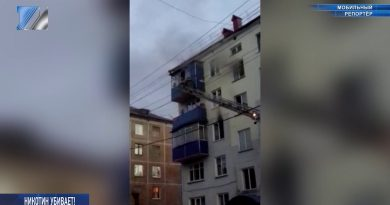 Пожарные спасали жильцов дома от сильного задымления