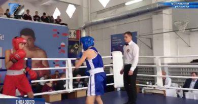 В Таштаголе прошли соревнования по боксу