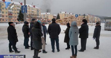 Рабочая группа посетила три площади города