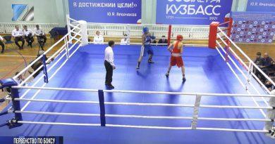 Открыто первенство области по боксу памяти М. Куюкова
