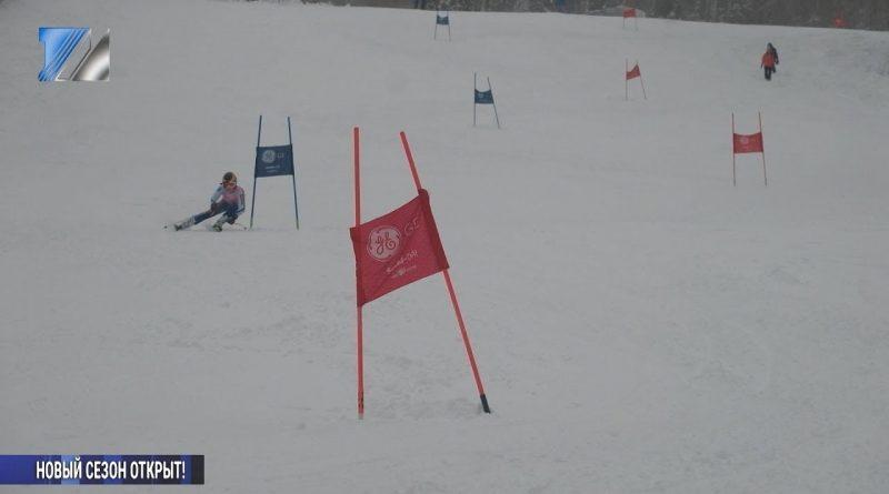 Турнир по горным лыжам на призы Деда Мороза