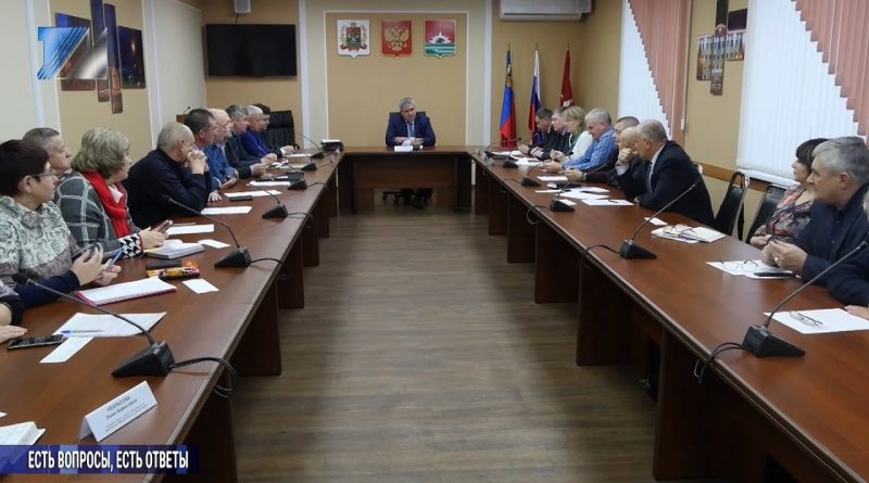 Состоялась встреча с руководителями профсоюзных организаций