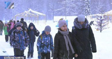 Лагерь «Чайка» готовится встретить ребят на зимних каникулах