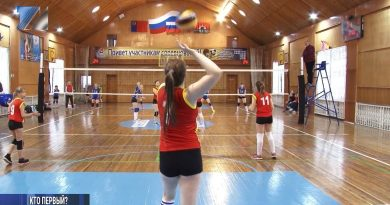 Итоги первенства по волейболу среди девушек