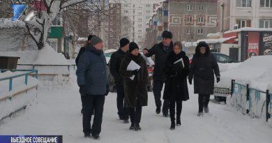 Рабочая группа осмотрела торговые павильоны по ул. Октябрьская