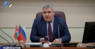В. Чернов призвал бизнесменов украсить свои торговые точки