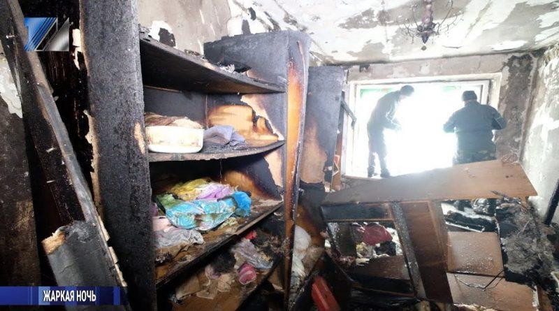 Сорок человек были эвакуированы из-за пожара