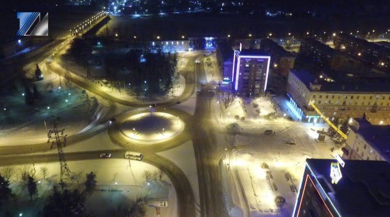 Ночной Междуреченск - 2019
