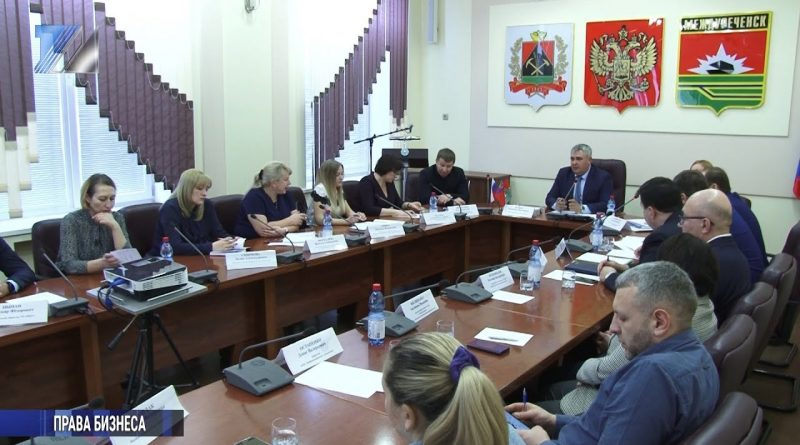 Состоялось расширенное совещание главы города и предпринимателей