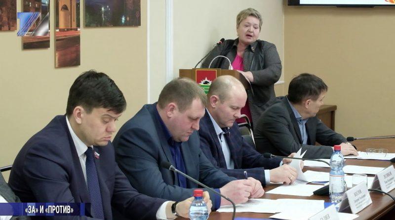 На заседании Совета народных депутатов рассмотрели ряд вопросов