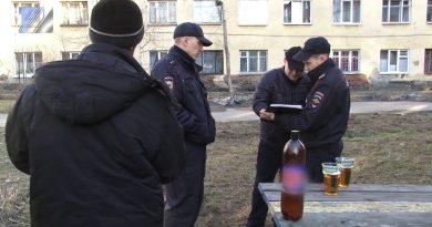 Спиртное на улицах города – вне закона