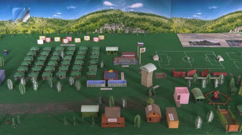 Макет лагеря «Ратник» стал самым популярным на Кузбасской ярмарке
