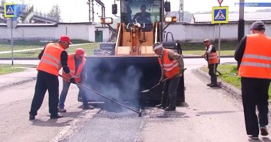 Дорожники приступили к ямочному ремонту дорог