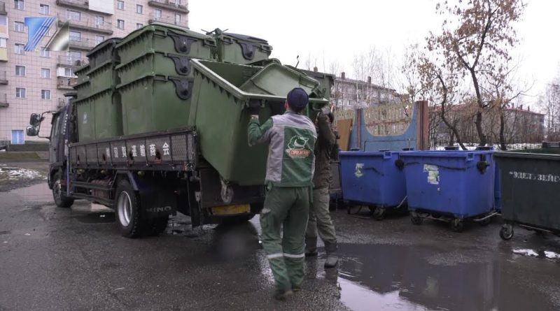 В Междуреченске установили дополнительные контейнеры