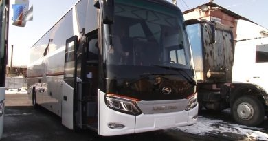 Новый автобус для междугородних рейсов