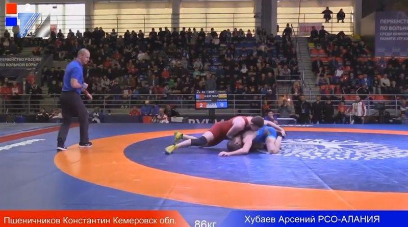 Два призовых места завоевали междуреченские борцы на первенстве России