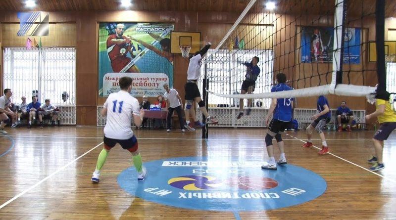 Завершился турнир по волейболу среди мужских команд