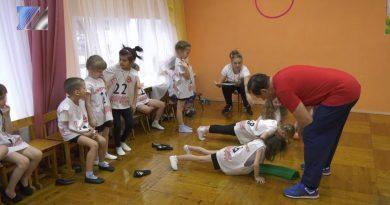 Воспитанники д/с № 26 присоединились к сдаче норм ГТО